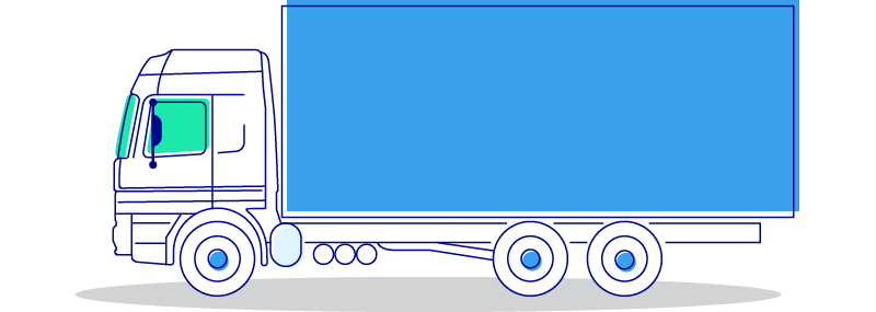 illustrazione camion